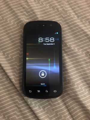 Samsung SPH-D720 Nexus S 4G Sprint Cell Phone for Sale in Bothell, WA