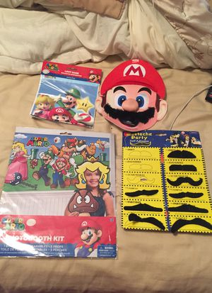 Mario and brothers accessories for Sale in Peabody, MA