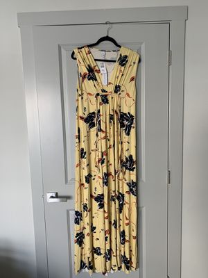 Maternity maxi summer dress NEW size:L for Sale in Westminster, CO