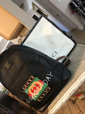Gucci backpack. Unlimited Real Nice 👍 for Sale in Santa Ana, CA
