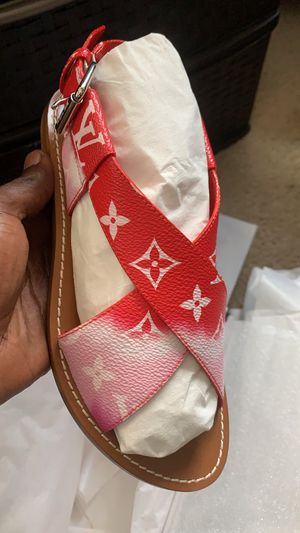 Louis Vuitton sandals size 37 (Us) 6.5 women's for Sale in Boston, MA