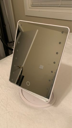 Cosmetic portable LED lighted vanity makeup mirror. for Sale in Henderson, NV