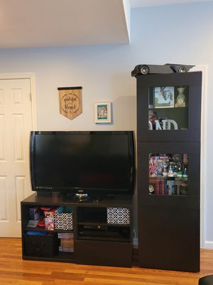 Tv Stand with Storage Unit for Sale in Jersey City, NJ