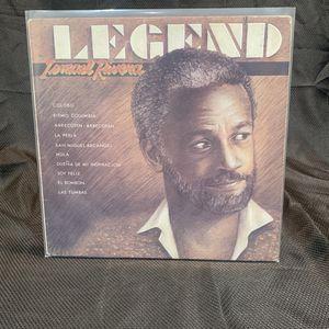 Ismael Rivera Lp Vinyl Record Album Legend for Sale in Moreno Valley, CA
