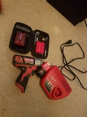 Milwaukee impact drill set for Sale in Cottage Grove, MN