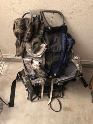 Hiking Backpack with extra bags for Sale in Carrollton, TX