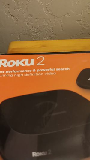 ROKU 2-BRAND NEW FACTORY SEALED for Sale in Lake Forest, CA
