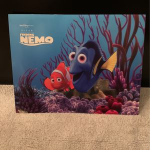 """Disney Finding Nemo Set of 4 Lithographs 11"""" x 14"""" Complete in Folder for Sale in Mesa, AZ"""
