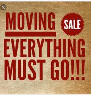 Moving sale today for Sale in San Diego, CA