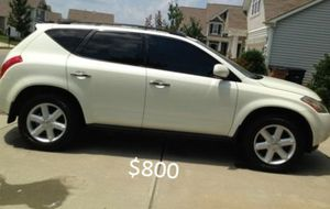 Nothing/Wrong. 2O03 Nissan Murano AWDWheels for Sale in Austin, TX