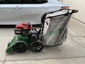 """Billy Goat (27"""") 187cc Honda Self Propelled Lawn/Litter Vacuum w/ 2"""" Chippe for Sale in Cudahy, CA"""