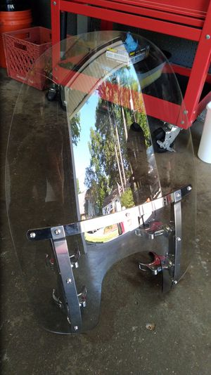 Harley quick disconnect windshield for Sale in Virginia Beach, VA