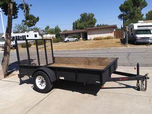 Utility trailer 6 1/2 X 10 foot inside for Sale in Palmdale, CA
