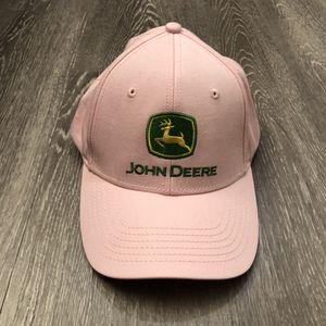 JOHN DEERE *LADIES* PINK Embroidered CAP HAT *BRAND NEW!* for Sale in Apopka, FL