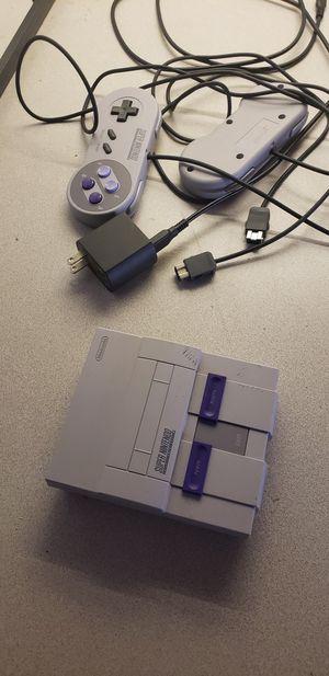 Super Nintendo system Mini for Sale in Columbus, OH