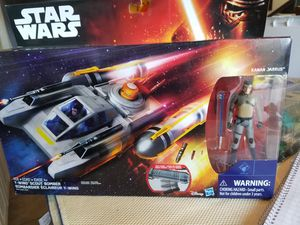 Star Wars Y-Wing Scout Bomber with Action Figure for Sale in Tacoma, WA