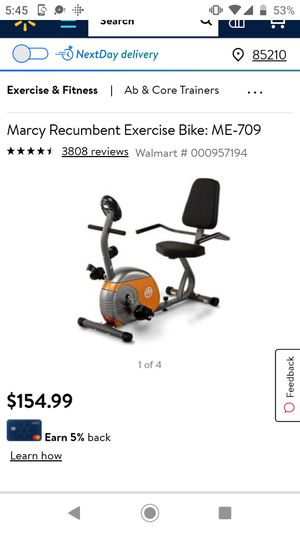 Marcy Exercise Bike for Sale in Mesa, AZ