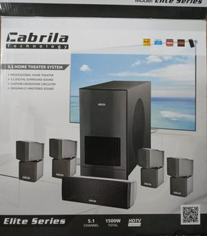 Cabrila Technology 5.1 HOME THEATER SYSTEM for Sale in Odessa, TX