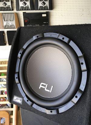 "FLI Audio car Audio amplified subwoofer 12"" 1000 watts system for Sale in Hemet, CA"