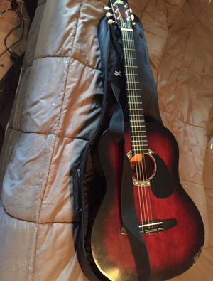Guitar with straps for Sale in Norwalk, CA