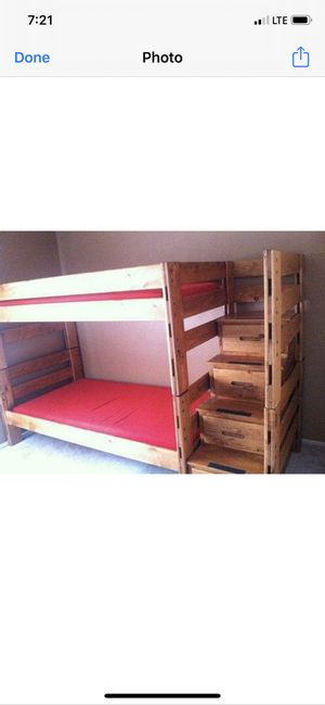 Bunk bed for sale $500 or best offer, in escondido swap meet only today 09/20/2020 for Sale in Oceanside, CA