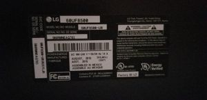 60 inch LG TV Model # 60UF8500 2015. 3 HDMI INPUTS 3 USB INPUTS LIKE NEW CONDITION. HAVE REMOTE. for Sale in Audubon, PA