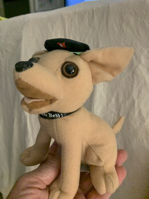 Packed away Vintage Taco Bell chihuahua dog collectible stuffed toy for Sale in Orange, CA