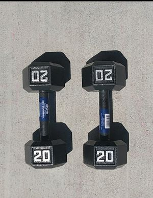20lb dumbbells for Sale in Santa Clara, CA