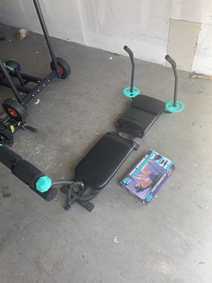Nordictrack ab works weight machine for Sale in Virginia Beach, VA