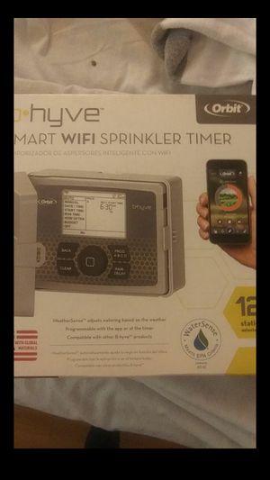 B hyve 12 station sprinkler timer for Sale in Upland, CA