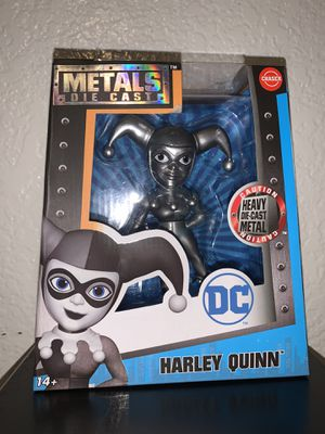 Die casts metals Harley Quinn chaser new for Sale in Fresno, CA