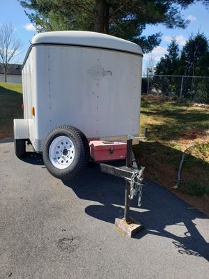 5 x 8 enclosed trailer for Sale in Mount Airy, MD