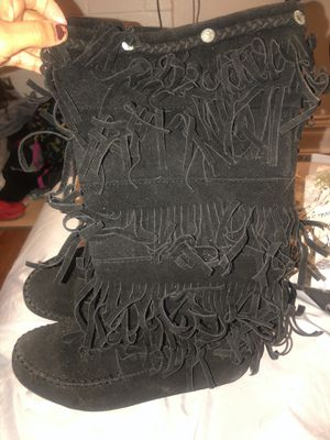 Fringe boots size 8 for Sale in MO, US