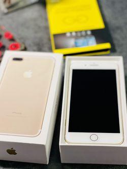 iPhone 📲 7 Plus 128gb Unlocked - Gold for Sale in Lynnwood,  WA