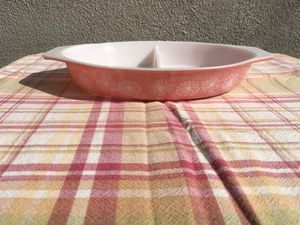 Pyrex pink daisy casserole dish for Sale in Anaheim, CA