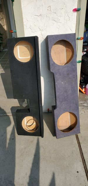Subwoofer boxes / cajones para bajos for Sale in Bakersfield, CA