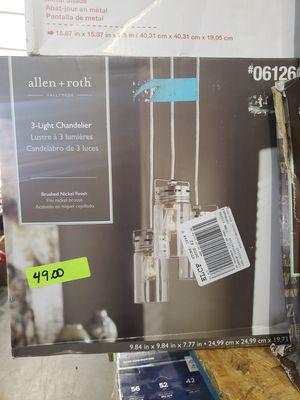 3-Light Chandelier for Sale in Lutz, FL