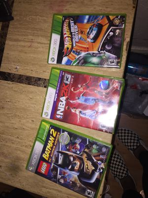 Xbox 360 games , a Xbox 360 control for Sale in Kinloch, MO