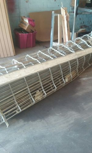 Aluminum roll up cage door for Sale in Cleveland, OH
