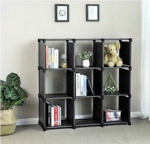 9 Cube DIY Storage Shelves Open Bookshelf Closet Organizer for Sale in Monrovia, CA