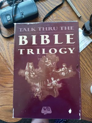 Talk thru the Bible trilogy for Sale in Battle Creek, MI