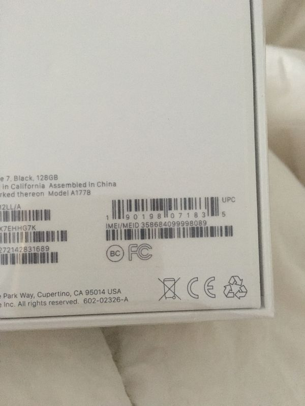 IPhone 7 AT&T BRAND NEW 128 GB SEALED