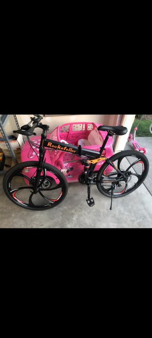ROCKEFELLER R100 21SPEED FOLDING BICYCLE for Sale in Auburn, WA