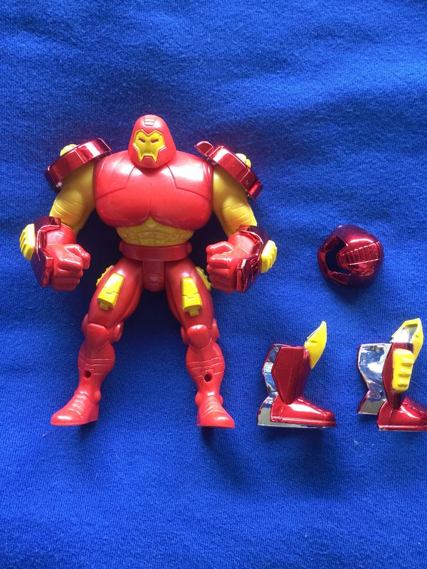 MARVEL COMICS collectables / Marvel Iron Man in Heavy duty armor