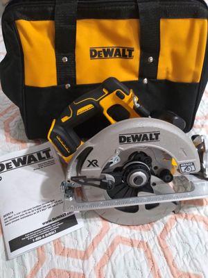 """New Dewalt DCS574 W1 20V MAX XR Li-Ion 7-1/4"""" Cordless Circular Saw - Sierra Circular for Sale in Miami, FL"""
