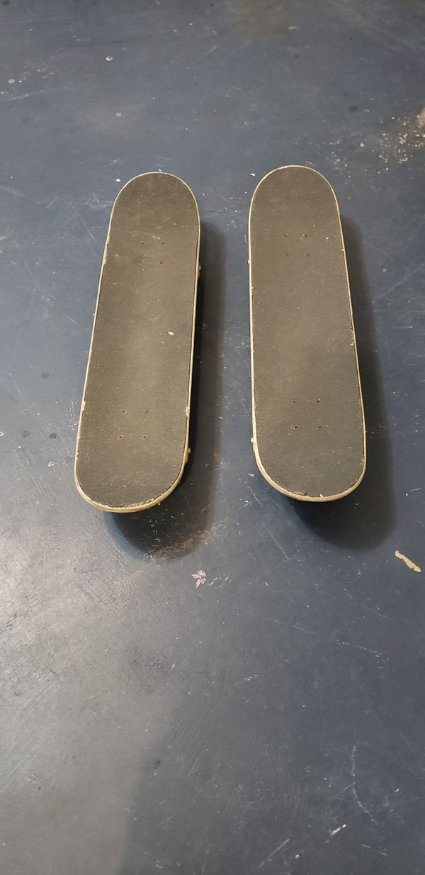 Two skate boards