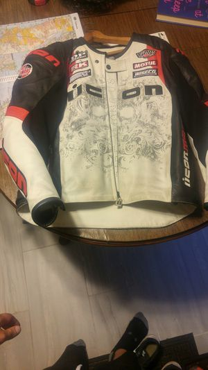 Icon motorcycle jacket for Sale in Mentor, OH