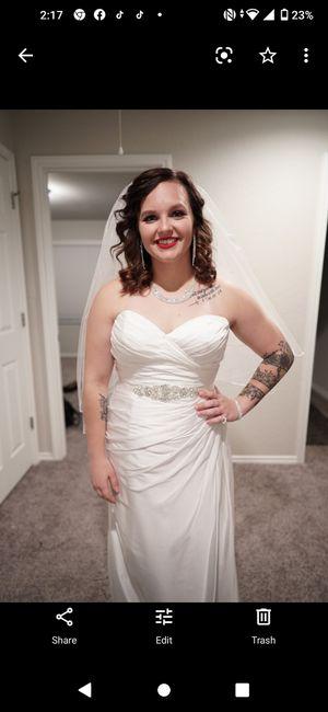 Wedding Dress size 14 $375 obo for Sale in San Antonio, TX