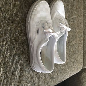 All White VANS for Sale in Wallingford, CT