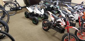 NEW MERCHANDISE US!, KIDS ELECTRIC TESLA LIKE QUADS-MINI BIKES- BICYCLES- ELECTRIC- POWER- SPEED- NEW PRICE! BE THE FIRST! for Sale in Las Vegas, NV